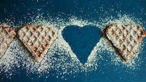 עוגיות בצורת לב