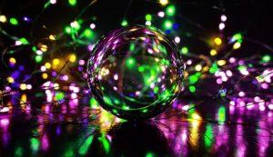 קסם של בועה ואורות